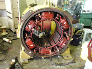 Gef technologies sdn bhd our services overhauling for 500 hp dc motor