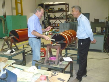 GEF Technologies Sdn Bhd - Our Services - Overhauling & Rewinding of